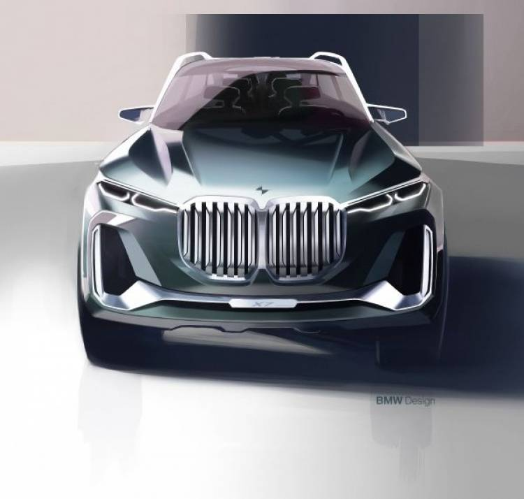 Das BMW Concept X7 iPerformance