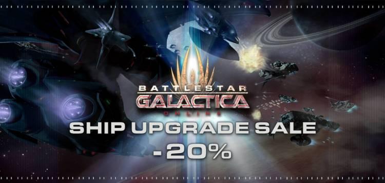 Schiffs Upgrade Sale