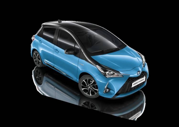 Ganz schön spritzig: Der neue Toyota Yaris Splash Hybrid