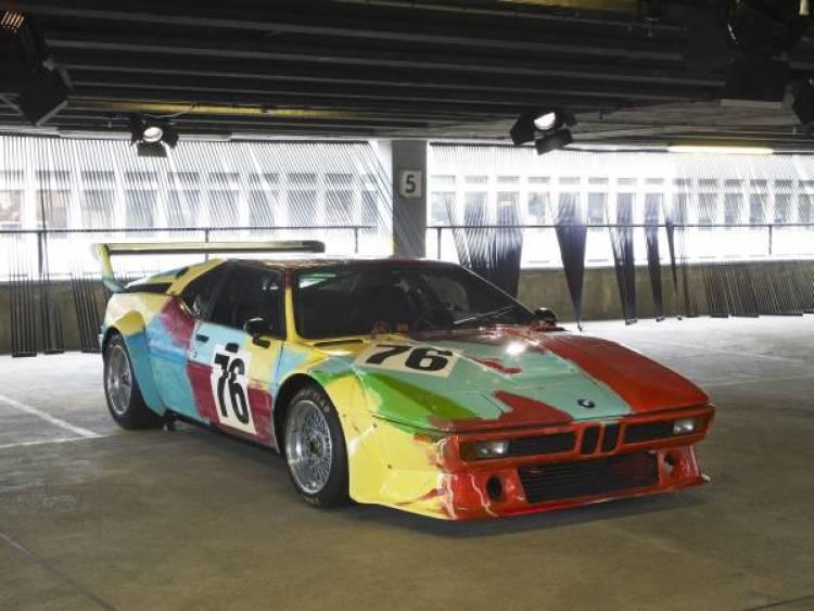 BMW Art Car Premiere im Museum der bildenden Künste Leipzig